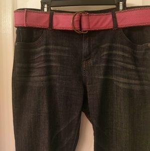 Vera Wang capri jeans